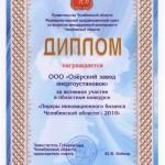 """""""Лидеры инновационного бизнеса Челябинской области 2010"""""""