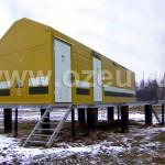 Блок-контейнер пункта электроснабжения, контроля и управления линейных потребителей