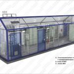 2БЛП — двухтрансформаторный блок линейных потребителей