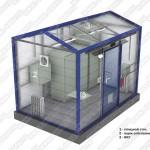 БКА-ОЗЭУ — Блок-контейнер аппаратурный